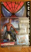 LEAPING SPIDER-MAN Spider-Man Movie Series 2 Marvel Toy Biz 2000