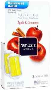 Renuzit  Electric Gel Refill Apple & Cinnamon 2ct