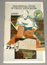 NHL 1979-80 St-Louis Blues Official Hockey Media Guide Yearbook