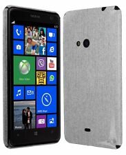 Skinomi Brushed Aluminum Full Body Cover+Screen Protector for Nokia Lumia 625