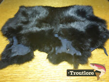 Complete Rabbit Hide Dyed Olive by Hareline Dubbin - Fly Tying Skin Material