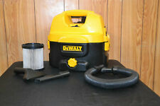 DeWALT 18V-240V CORDLESS WET DRY HOOVER WITH FILTER VACUUM CLEANER DC500 W@@w!