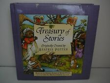 Treasury of Stories Originally by Beatrix Potter Peter Rabbit Jemima Collectable