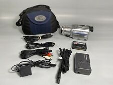 Panasonic Pv-Gs400 MiniDv 3Ccd Camcorder w/Accessories - Bundle - Tested