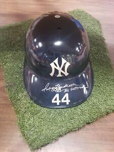 Reggie Jackson Yankees Autographed Signed Official Baseball Helmet Upper Deck