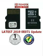SALE New 2018 2019 Toyota 86271 0E071 Navigation Micro SD UpdateBuy with Confid