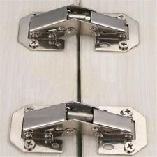 Concealed Corner Folded Kitchen Cabinet Door Hinges Combination Plate Screw G