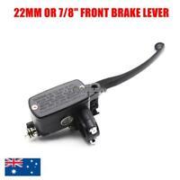 """M10 22mm 7/8"""" Front Brake Master Cylinder Lever Honda CBR Yamaha YZF Suzuki GSXR"""