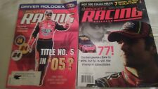 2005 + 2007 Beckett Racing Collectibles Price Guide  feature Jeff Gordon