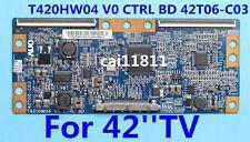 Dynex DX-L42-10A T-con Board AUO T420HW04 V0 CTRL BD 42T06-C03 55.42T06.C15