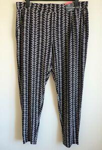M&s Collection Jersey Tapered Ankle Grazer Hose Größe 18
