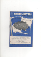 1959-60 Bristol Rovers v Swansea Town 26th December 1959 Division 2