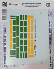 Microscale Decal #MC-4254 Burlington Northern Santa Fe/Renumbered Diesel(Patches