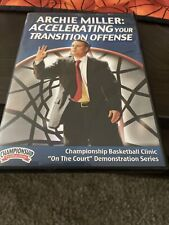 Archie Miller: Accelerating Your Transition Offense Basketball Coaching Dvd