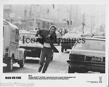 ORIG.1987 PHOTO-SCOTT GLENN-MAN ON FIRE-ACTION-DRAMA-THRILLER-RUNNING-SEARCHING