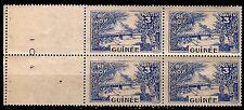 GUINEE 1 bloc de 4 Timbres. neufs N°YT 126    151T2