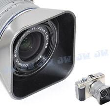 JJC Lens Hood for Olypus M.Zuiko Digital 14-42MM 1:3.5-5.6 II R as LH-40 SILVER