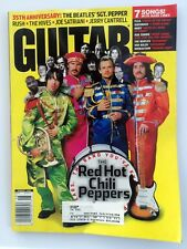 Guitar World Magazine August 2002 - Red Hot Chili Peppers, The Beatles, Rush