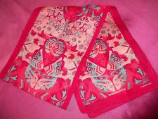 """FORD WARRIORS IN PINK POLY/COTTON CANCER SCARF 2016   9"""" X 52""""   NEW/WOT"""
