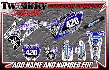 Yamaha YZF YZ 125/150/250/450 Motocross MX Gráficos Pegatinas todos los años