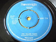 "THE YELLOW PAGES - DOUGAL  7"" VINYL"