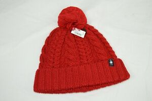 SmartWool Women's Ski Town Hat MSRP$36 (SW20AC2) Chile Pepper