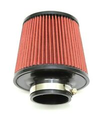 """1320 PERF FAB 2.75"""" Universal air filter cone reusable red air filter & clamp"""