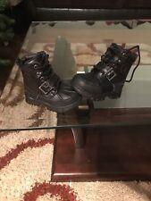 NEW Ralph Lauren POLO BOOTS Black Size 6c