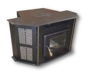 CORN STOVE - Up to 50,000 BTU's - Direct Vent - Fireplace Insert or Freestanding