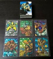 """1992 Comic Images """"Wolverine - From Then Til Now II"""" 90 Card Base AND Prism Sets"""
