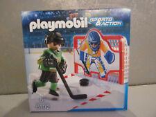 PLAYMOBIL deporte & Acción 6192 Entrenamiento portero hockey sobre hielo -