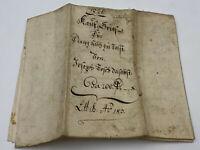 ANTIKES SCHREIBEN / URKUNDE / MANUSKRIPT AUS DEM JAHR 1820 TINTE AUF PAPIER