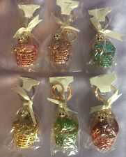 6x Keyrings Very Rare Cat in Basket Limited Edition Giftwrapped Individually