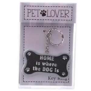 DOG BONE HUMOUR KEY RING ( FOR PET LOVERS )