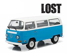 1971 VOLKSWAGEN TYPE 2 BUS LOST TV SERIES (2004-2010) 1/18 BY GREENLIGHT 19011