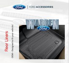 2015-19 F150 Reg Cab OEM Floor Liner Tray Style Floor Mats FORD Accessory