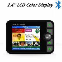 Voiture DAB Récepteur de Radio Écran LCD 2.4'' Bluetooth Antenne émetteur FM