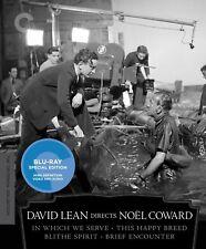 David Lean Directs Noel Coward (Blu-ray Disc, 2012, 4-Disc Set, Criterion Collec