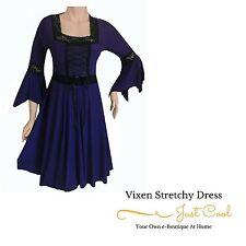 Square Neck Plus Size Little Black Dresses
