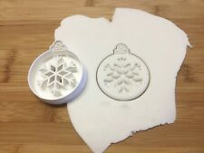 Christmas Bauble Cookie Cutter Biscuit, Pastry, Fondant, Bread Cutter