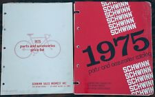 1975 Vintage Schwinn Parts CATALOG Stingray Bicycle Lightweight RoadBike Cruiser
