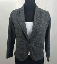 CAbi Womens Speckled Dark Gray Cardigan Size XS