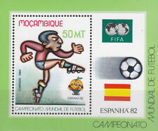 Mocambique Nr. Bl. 13** Fußball WM 1982 Spanien / Football World Cup 1982 Spain