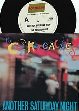 Cockroaches ORIG OZ PS 45 Another Saturday night NM '89 New wave Wiggles