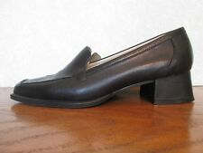 Easy Spirit Anti Gravity Womens Leather Casual Comfort Shoes Black Size 7.5B