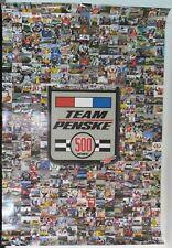Team Penske 500 Wins Collector Poster Penske Racing
