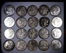 Lot of (5) 1921 Silver Morgan Dollar XF+ Free Shipping