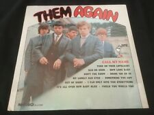 THEM Them Again LP Sealed Mono PA 61008 Parrot Records Van Morrison RARE!