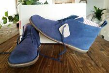 Clarks Originals Jaguar Desert Boot Size 9UK 9.5US/10US Navy Blue Mod Ltd Candy