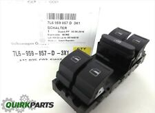 04-10 Volkswagen Touareg WITHOUT Child Lock Safety Switch DRIVER Window Switch